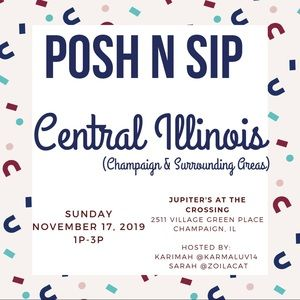 Join us for Posh N Sip Champaign IL Nov 17 !
